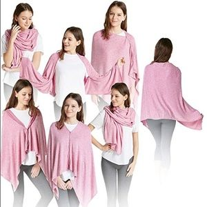 Cashmere feel 5in1 wrap